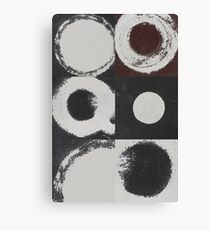 QUARTERS #1, SANDPAPER and CLAY Canvas Print