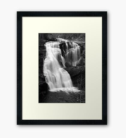 Bald River Falls III Framed Print
