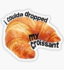 croissant vine Sticker
