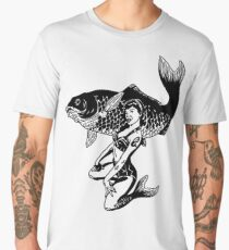 Pin Up Siren Men's Premium T-Shirt