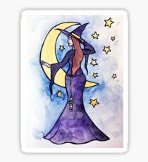 Moon Witch Sticker
