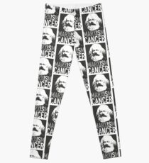 Marxismus ist Krebs Leggings