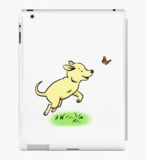 Tripod Dog, Three Legged Dog Playing iPad Case/Skin