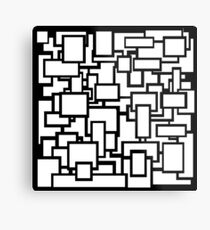 Blocks on blocks on blocks Metal Print