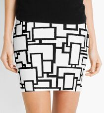 Blocks on blocks on blocks Mini Skirt