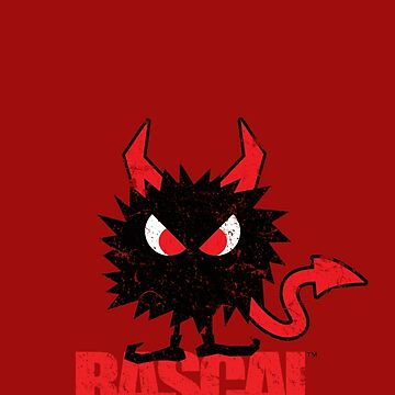 Red Devil  rascal T-Shirt by toddalan