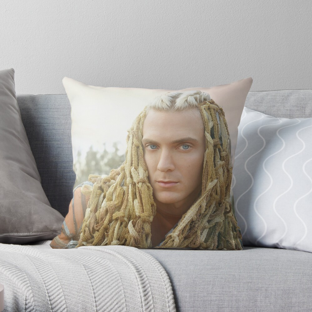 Dying Trophies Throw Pillow