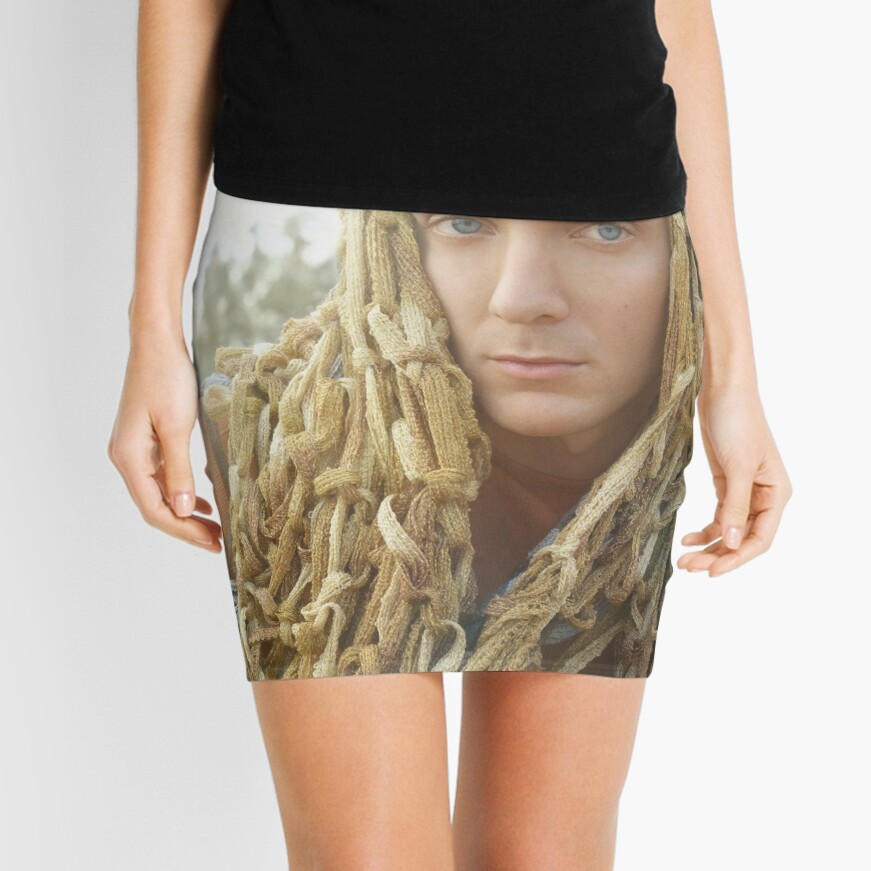 Dying Trophies Mini Skirt