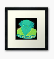 the worst  Framed Print