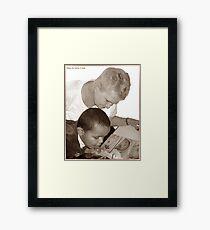 Sweet Precious Moments... Framed Print