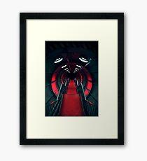 Retro Futurism Atomium Framed Print