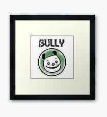 Retro Cartoon Dog, Bulldog, Bully Breed Framed Print