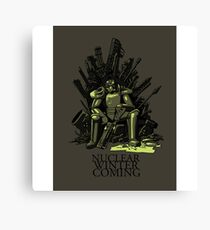 Game of Fallout Canvas Print