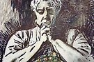 In Prayer by Diane  Marie Kramer