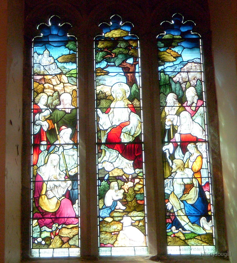 Barnard Castle Church Window by hilarydougill