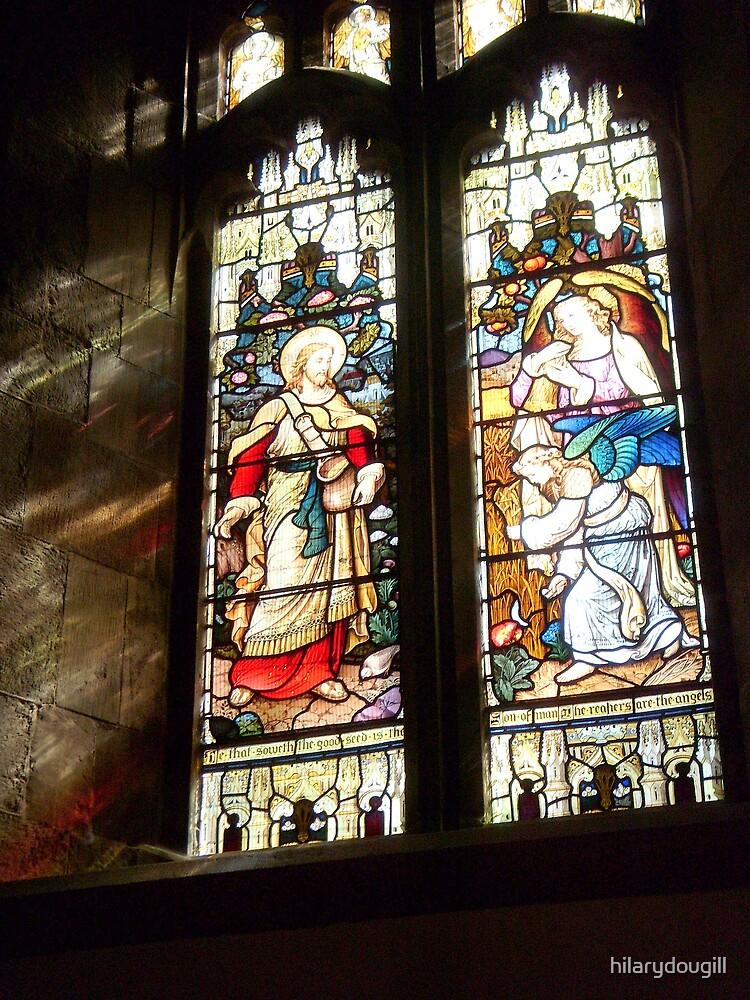 Another Church Window by hilarydougill