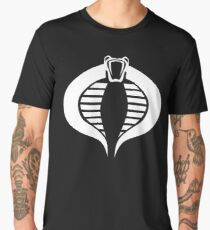 COBRA Insignia (white) Men's Premium T-Shirt