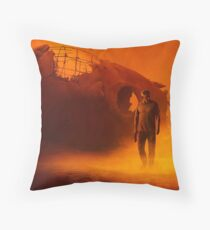 2049 Throw Pillow