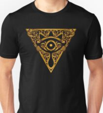 Sheikah Victoriana Legend of Zelda Vintage eye T-Shirt