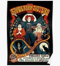 Sanderson-Schwestern - Reise-Plakat Poster