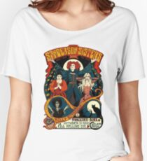 Sanderson Sisters -Tour Poster Women's Relaxed Fit T-Shirt