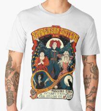 Sanderson Sisters -Tour Poster Men's Premium T-Shirt
