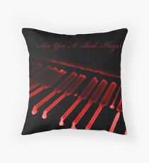 Player Throw Pillow