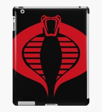 COBRA Insignia (red) iPad Case/Skin