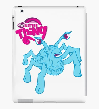 My Little Thing Spiderhead Halloween Horror Shirt iPad Case/Skin