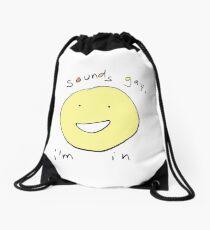 Optimistic! Drawstring Bag