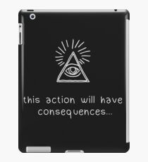 Life Is Strange Before The Storm - Consequences Chloe Version iPad Case/Skin