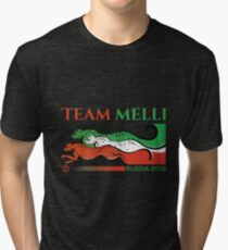 Iran Team Melli World Cup 2018 Tri-blend T-Shirt