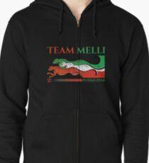 d458499e9 Iran Team Melli World Cup 2018 Zipped Hoodie