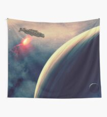 Excursion through time Wall Tapestry