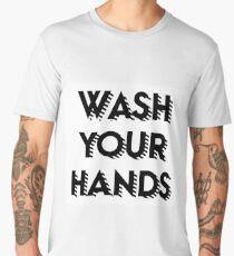 Wash your hands Men's Premium T-Shirt