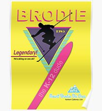 Atomic Brodie Poster
