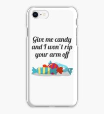 Just Want Candy Halloween Design iPhone Case/Skin