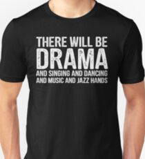 there will be drama - theatre Slim Fit T-Shirt