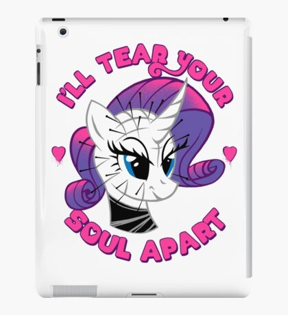 My Little Pinhead Halloween Horror Hellraiser Shirt iPad Case/Skin