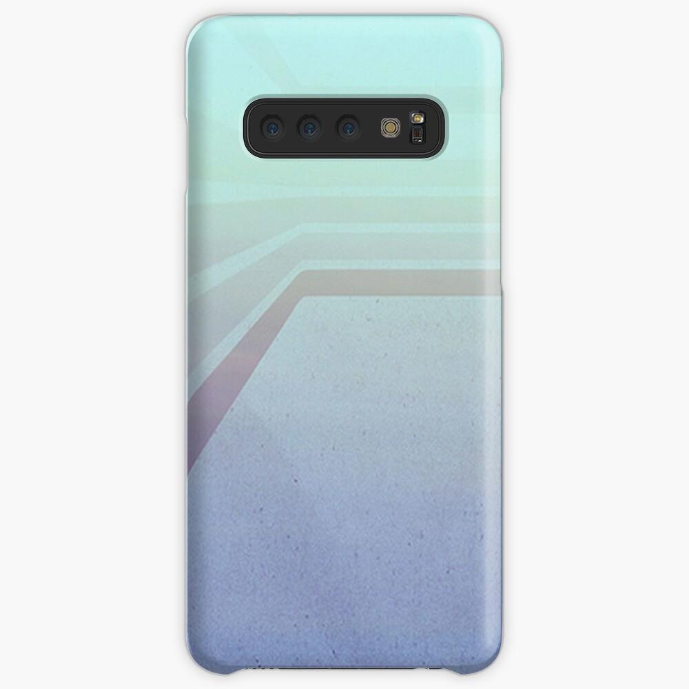 Horizontal flight (Blue edition)  Samsung Galaxy Snap Case