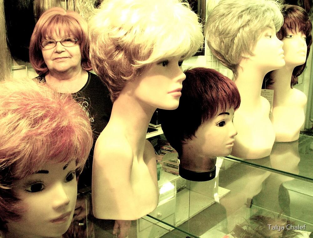 the ladies of riga market #3 by Talya Chalef
