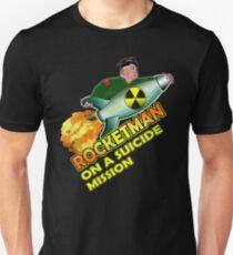 Rocket Man Funny Kim Jong Un Political Trump Quote T-shirt T-Shirt
