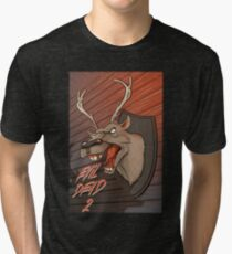 Evil Dead Format 2 Tri-blend T-Shirt
