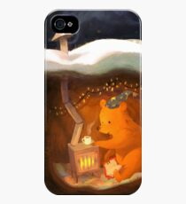 Snowy Rooftops iPhone 4s/4 Case