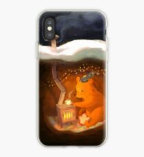 Snowy Rooftops iPhone Case