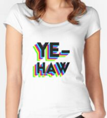 yehaw Women's Fitted Scoop T-Shirt
