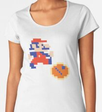 Jumpman (aka Mario) Donkey Kong Classic Arcade Women's Premium T-Shirt
