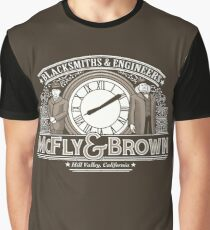 McFly and Brown Graphic T-Shirt