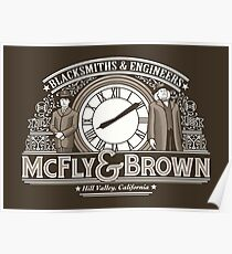 McFly and Brown Poster