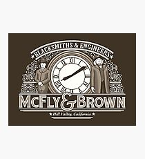 McFly and Brown Photographic Print